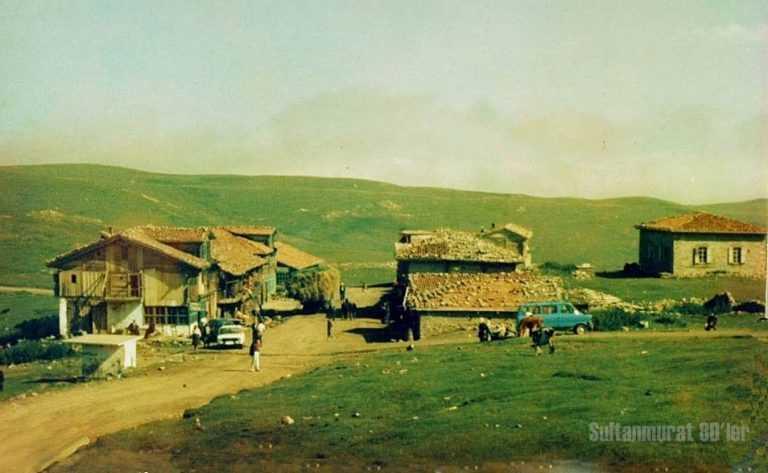 Geçmişte yayladan köye göç 1