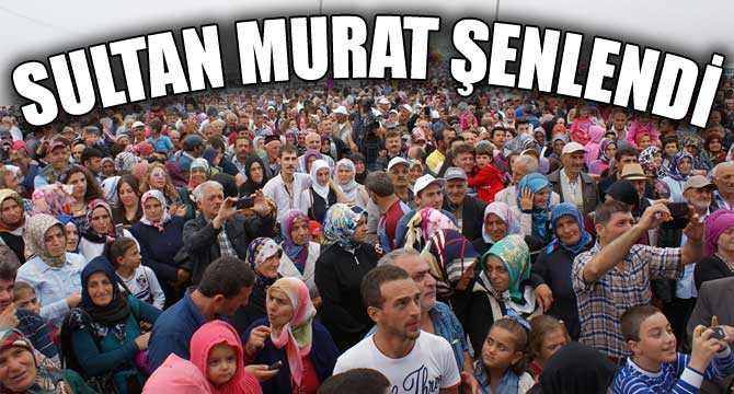 Sultanmurat Yayla Ortası Şenlikleri yapıldı