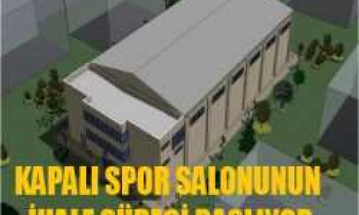 Spor Salonu İhale Süreci Başlıyor