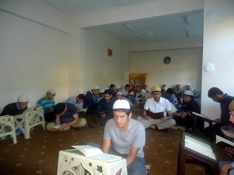 Soma'da vefat eden madenciler için hatim okundu