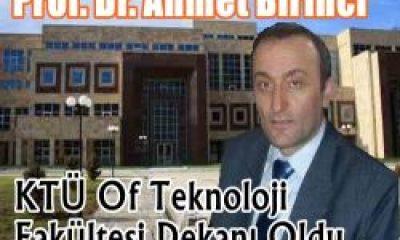 Prof. Dr. Ahmet Birinci Dekan Oldu