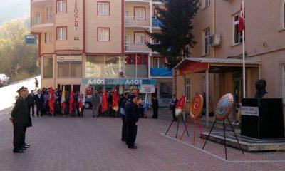 Çaykara'da 10 Kasım Atatürk'ü Anma Günü