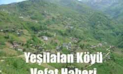 Yeşilalan mahallesinden Rahime Taşkıran vefat etti