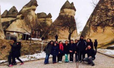 Zeki Bilge Ortaokulu Nevşehir Havası Kokladı