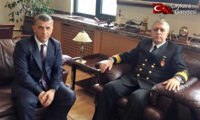 Tok Askeri Yargıtay Başkanı Zeki Liman'ı ziyaret etti