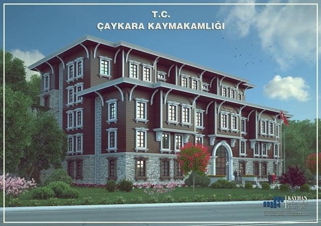 Hacımüftüoğlu Hükümet Konağı inşaatını inceledi 1