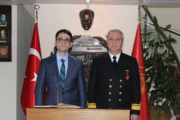 Ahmet Zeki Liman ziyaret