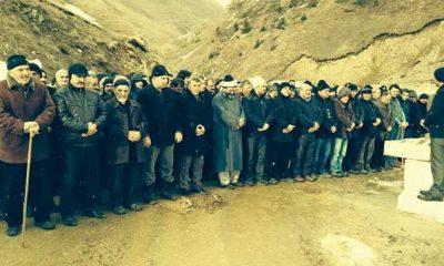 Arpaözü'nde Hamide Akçay toprağa verildi