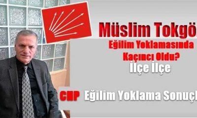 Tokgöz kaç oy aldı? İşte CHP'de ilçe ilçe oylar…