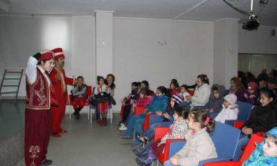 Çaykaralılar Derneğinde çocuk tiyatrosu