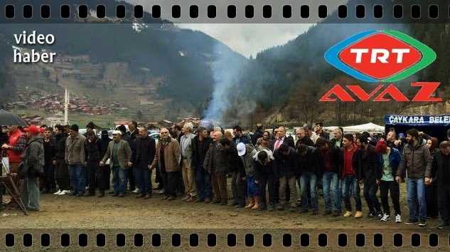 Uzungöl Kar Festivali TRT Avaz Ekranındaydı