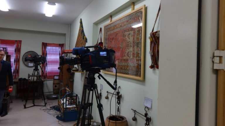 TRT Dernekpazarı'ndaki okul müzesinden canlı yayın yaptı 13