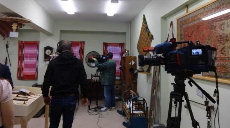 TRT Dernekpazarı'ndaki okul müzesinden canlı yayın yaptı 5