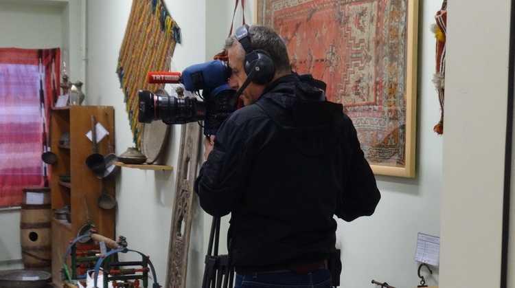 TRT Dernekpazarı'ndaki okul müzesinden canlı yayın yaptı 3