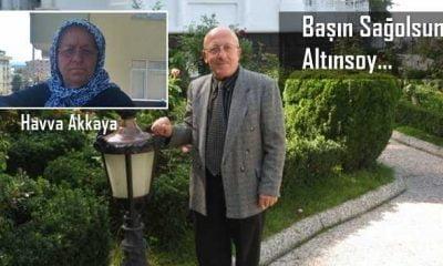 A. Rıza Altınsoy'un kayınvalidesi vefat etti