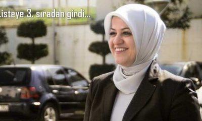 Ayşe Sula Köseoğlu 3. Sırada