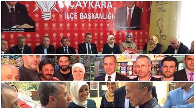 """""""Çaykara'dan Çaykaralıya tam destek"""" 1"""