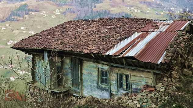 Yorgun evler... 2