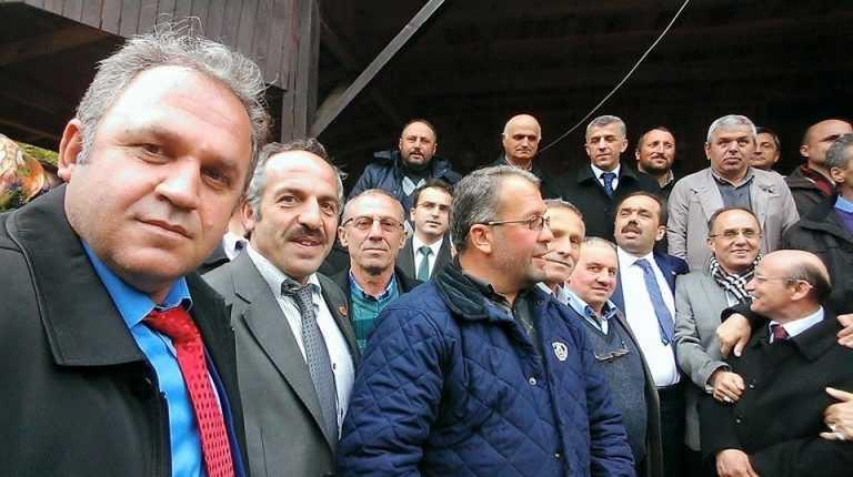 Ak Parti Trabzon 2. sıra adayı Muhammet Balta Çaykara'daydı