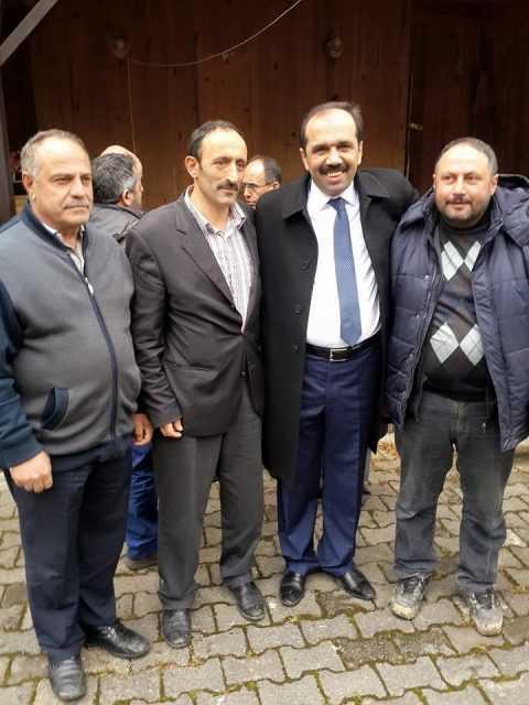 Ak Parti Trabzon 2. sıra adayı Muhammet Balta Çaykara'daydı 2
