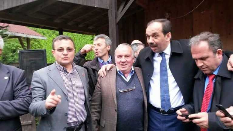 Ak Parti Trabzon 2. sıra adayı Muhammet Balta Çaykara'daydı 6