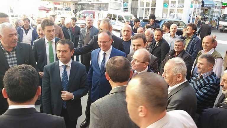 İçişleri Bakanı baba ocağında sorunları dinledi 10