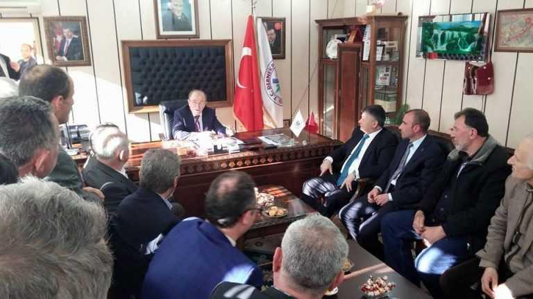 İçişleri Bakanı baba ocağında sorunları dinledi