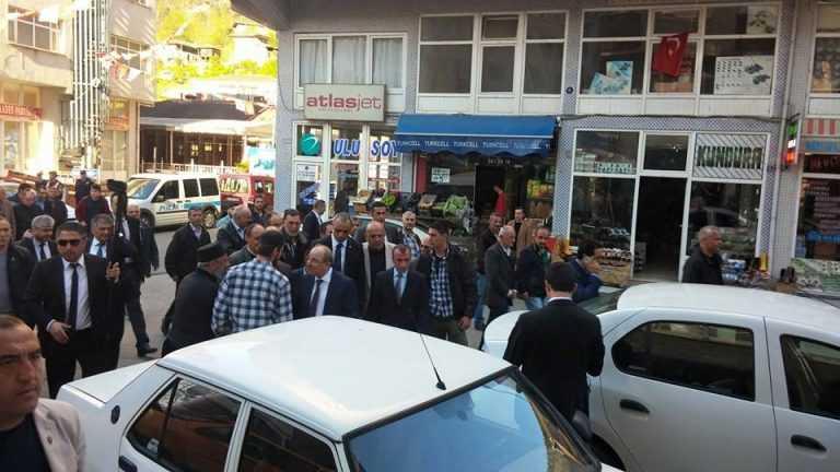 İçişleri Bakanı baba ocağında sorunları dinledi 4