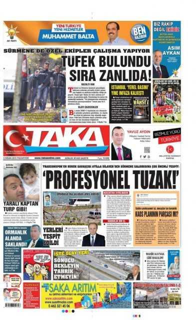 Trabzon Yerel Basını: Kurşun Sıkan Bizden Değildir 3