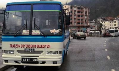 Büyükşehirden Çaykara-Trabzon arasına günde tek sefer