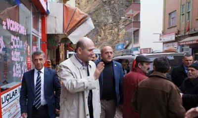 Ak Parti adayları Çaykara'da