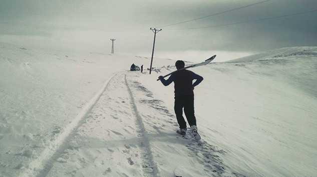 Maceracılar yaylaya ulaşamadı.. Sultanmurat yolu kapandı 1