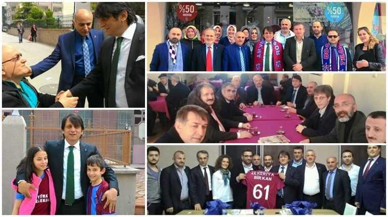 Çaykaralı Ak Parti adayı Zekeriya Birkan Bursa'yı karış karış dolaşıyor 2