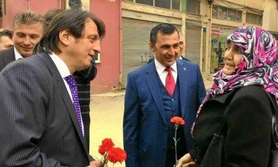 Çaykaralı Ak Parti adayı Zekeriya Birkan Bursa'yı karış karış dolaşıyor
