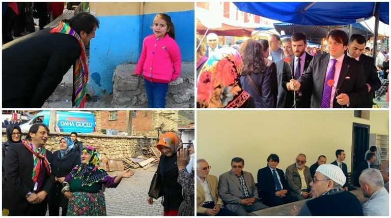 Çaykaralı Ak Parti adayı Zekeriya Birkan Bursa'yı karış karış dolaşıyor 4