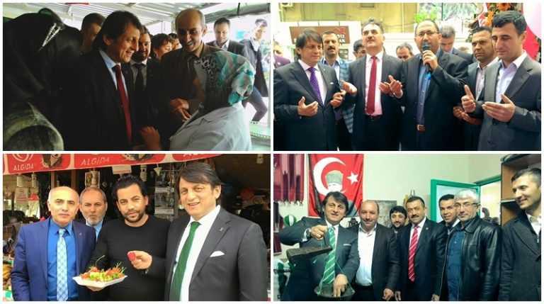 Çaykaralı Ak Parti adayı Zekeriya Birkan Bursa'yı karış karış dolaşıyor 5