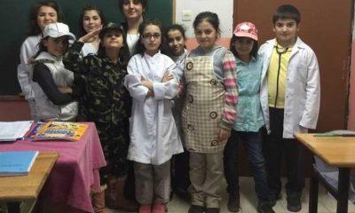 Zeki Bilge İlkokulu Çocuk kulübü faaliyetlerine devam ediyor