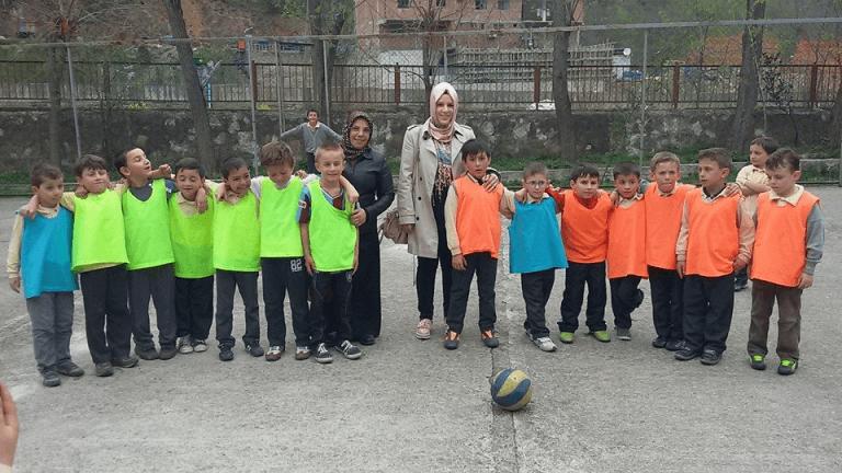 Zeki Bilge İlkokulu sınıflar Arası 23 Nisan futbol turnuvası sona erdi