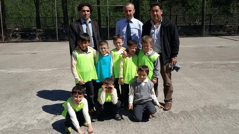 Zeki Bilge İlkokulu sınıflar Arası 23 Nisan futbol turnuvası sona erdi 5