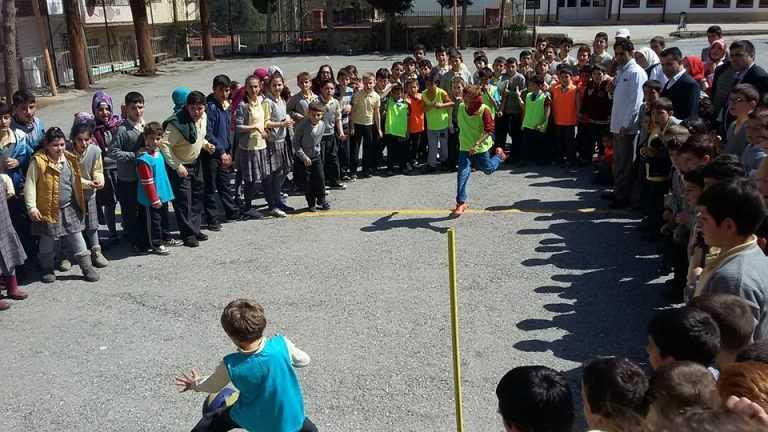 Zeki Bilge İlkokulu 23 Nisan Futbol Turnuvası başladı 8