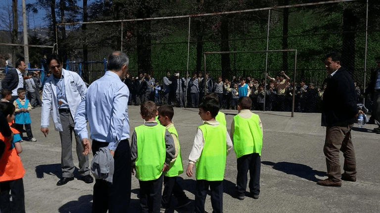 Zeki Bilge İlkokulu sınıflar Arası 23 Nisan futbol turnuvası sona erdi 7