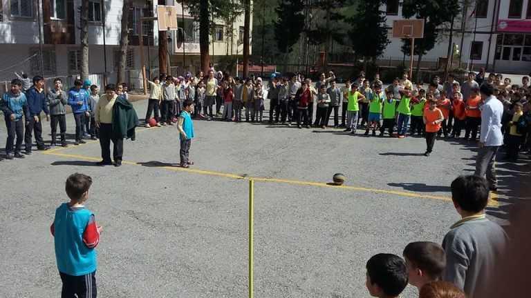 Zeki Bilge İlkokulu 23 Nisan Futbol Turnuvası başladı 9