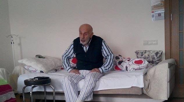 Akköse köyü eski muhtarı Ömer Kaldırım vefat etti