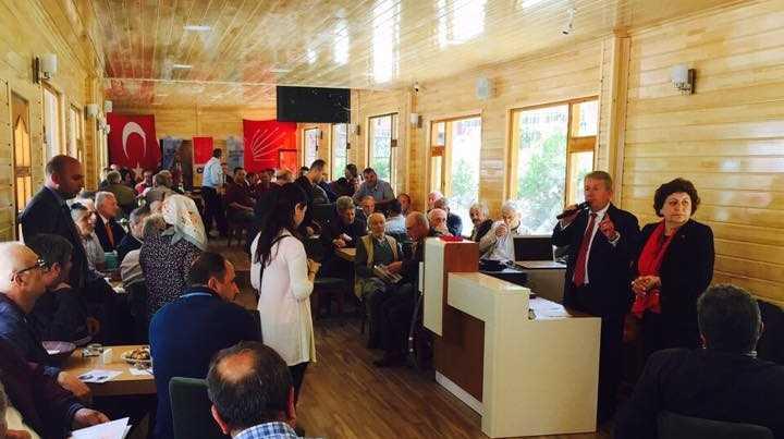 CHP Adayı Pekşen Çaykara'da Hükümete yüklendi 2