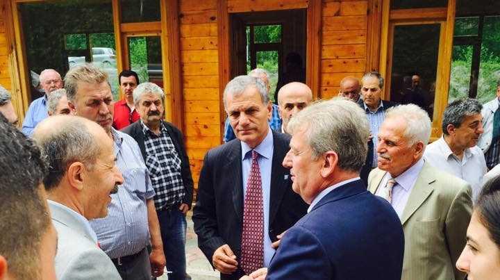 CHP Adayı Pekşen Çaykara'da Hükümete yüklendi 6