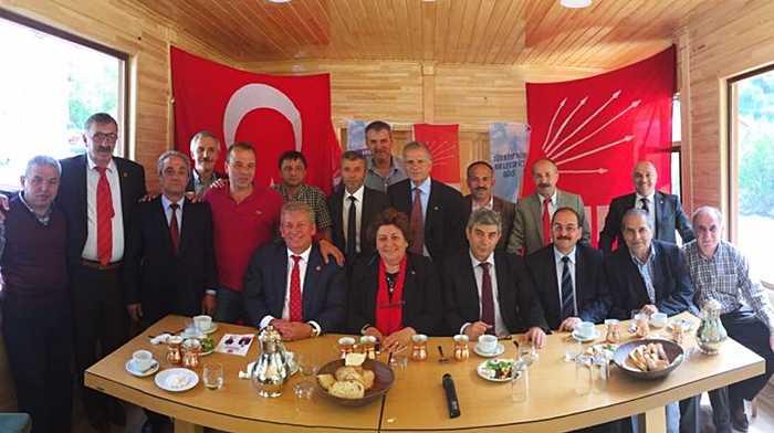 CHP Adayı Pekşen Çaykara'da Hükümete yüklendi 1
