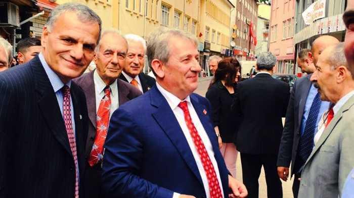 CHP Adayı Pekşen Çaykara'da Hükümete yüklendi