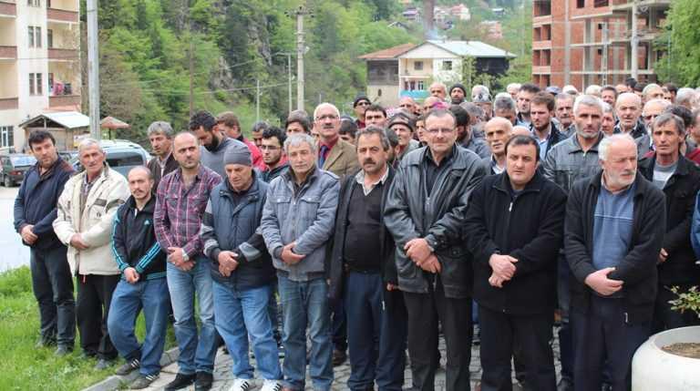 İsmail Akyüz Taşkıran'da toprağa verildi 3