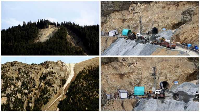 Çığ felaketinde 5 kayıp veren HES'te çalışmalar yeniden başladı 3