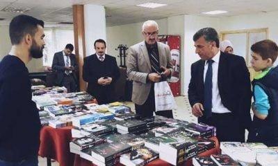 Çaykara'da kitap fuarı sona erdi